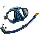 kit Pesca Sub Azul