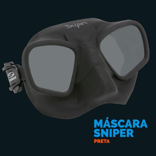 Máscara Sniper